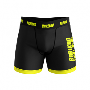 Barikao Men's Compression Shorts CX1 Black/Yellow