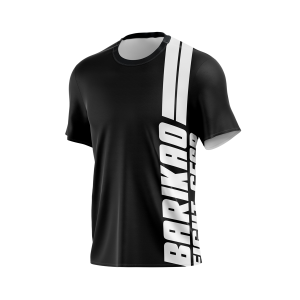 Barikao Basic Training T-Shirt Black and White
