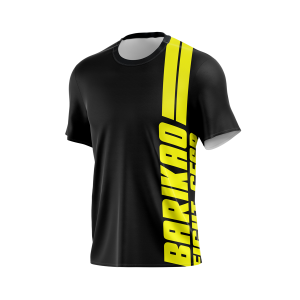 Barikao Basic Training T-Shirt Black and Yellow