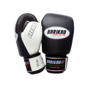 Barikao Boxing Gloves BX1 Black/White_side