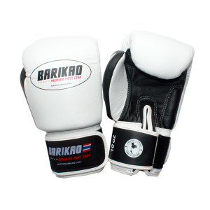 Barikao Boxing Gloves BX1 White/Black