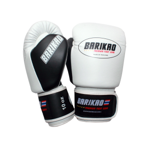 Barikao Boxing Gloves BX1 White/Black_side