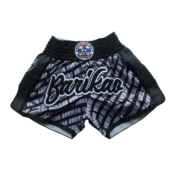 Barikao Muay Thai Short Bangkok Black