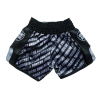 Barikao Muay Thai Short Bangkok Black_back
