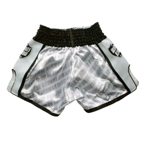 Barikao Muay Thai Short Bangkok White_back