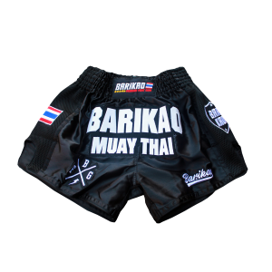 Barikao Muay Thai Short Kru Black
