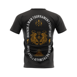 Barikao T-shirt Bangkok Fight Night back